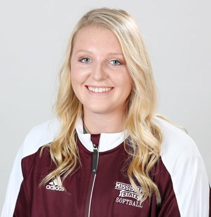 EMILY WILLIAMS Fr. P R/R 5-8 58 CARROLLTON, GA. CENTRAL HIGH SCHOOL Started 15 contests for the Bulldogs in the circle, making three relief appearances for MSU.