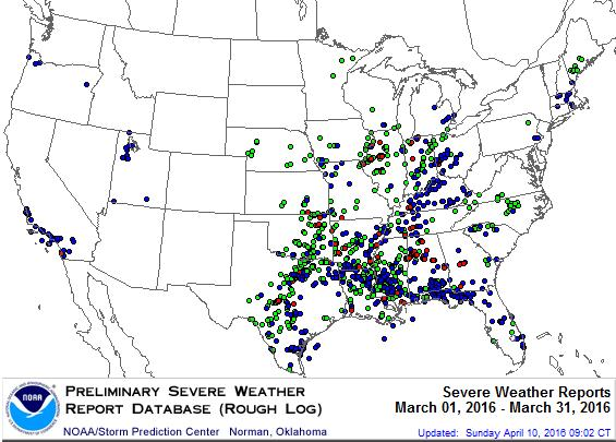 Climate Highlights Severe Weather Analysis All