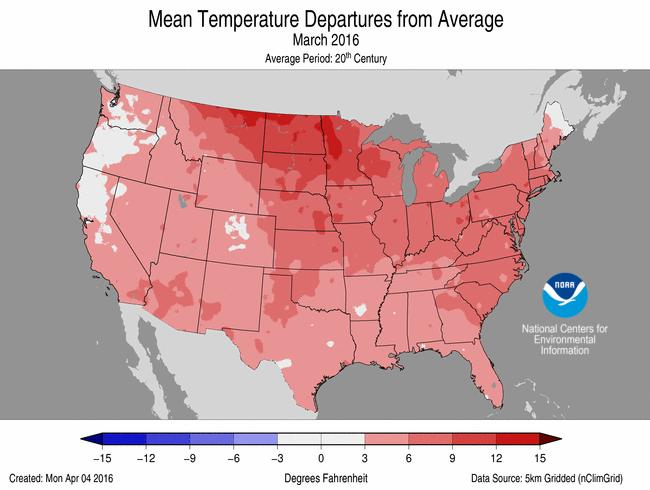 The U.S. Climate Extremes Index (USCEI) for the year-to-date was 45 percent above average and the 13th highest value on record.