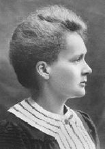 Physics MARIE SKLODOWSKA CURIE (1867-1934) 1 becquerel = 1Bq = 1 decay per second An older unit, the curie, is still in common use: 1 curie = 1 Ci = 3.