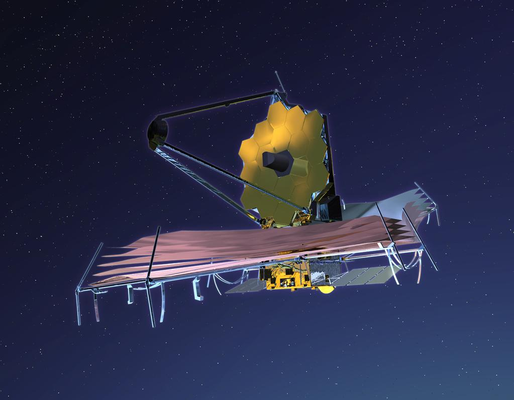 Future: In Space The James Webb Space Telescope HST on steroids: 6.5 meters (JWST) 2.