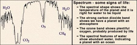 Biomarkers: can we tell if a planet hosts life from its spectrum?