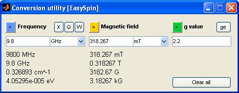 EasySpin: EPR Spectral Analysis, Simulation and Fitting - PDF