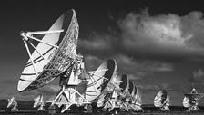 Two (or more) radio dishes observe the same object Signals