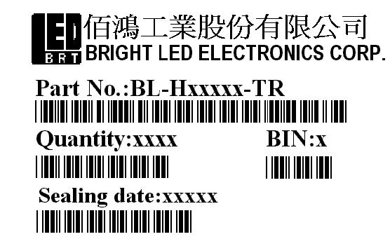 Notes for designing: BRIGHT LED ELECTRONICS CORP. Care must be taken to provide the current limiting resistor in the circuit so as to drive the BRIGHT LEDs within the rated figures.