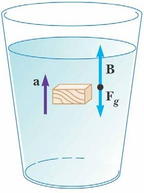 Archimedes s Principle: Totally Submerged Object, cont If the density of the object is
