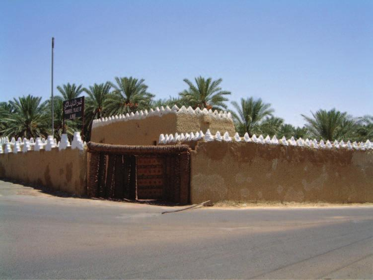 6 Saudi Arabia: An Environmental Overview Figure 1.2 The little palace in Jubbah where the Blunts rested during their crossing of An Nafud (Photo: author).