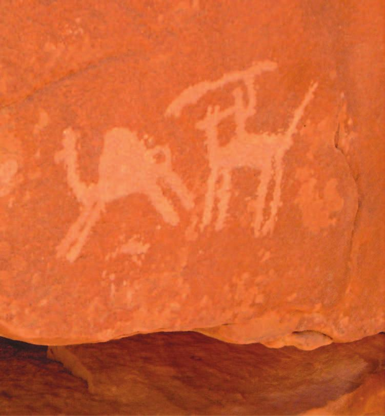 24 Saudi Arabia: An Environmental Overview Figure 2.5 Petroglyph at Jubbah (Photo: author).