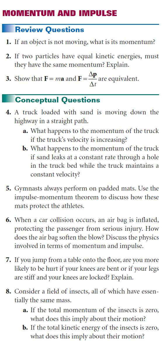 Chapter 6: Momentum and Collisions - PDF