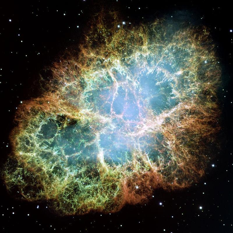Cosmic Abundance of Chemical Elements Some massive stars explode in a supernova at the end of their lives.