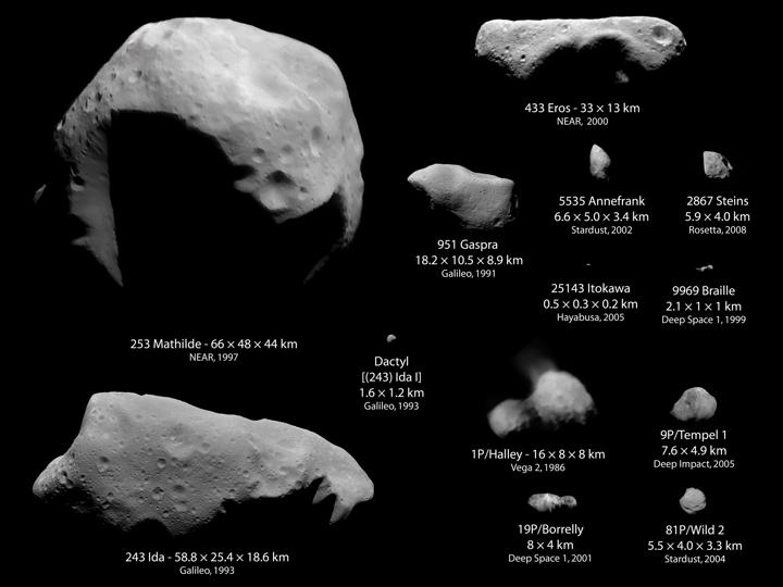 Asteroids small