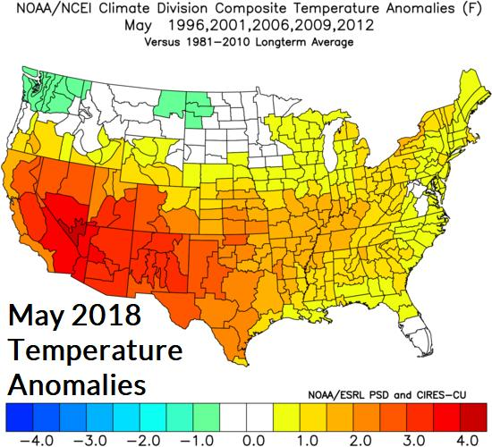 presence of drought in the Southeast U.S. there is risk of a hotter than forecast regime.