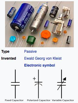 Capacitor Types There are many different types of capacitors Electrolytic, tantalum, ceramic, mica,.