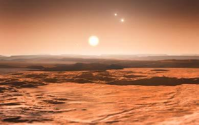 Astronomers look for planets in the habitable zone, also known as the Goldilocks Zone. The Goldilocks Zone is not too hot and not too cold.