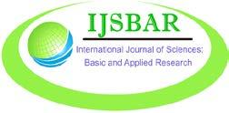 Iteratioal Joural of Scieces: Basic ad Applied Research (IJSBAR) ISSN 2307-4531 (Prit & Olie) http://gssrr.org/idex.php?