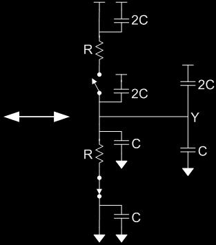 RC Values Estimate the delay of a fanout-of-1 inverter Set size (width) of PMOS to 2 x