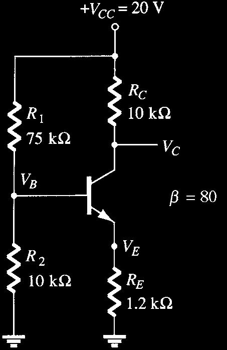 c. What happens to I C if the supply voltage is low? d.