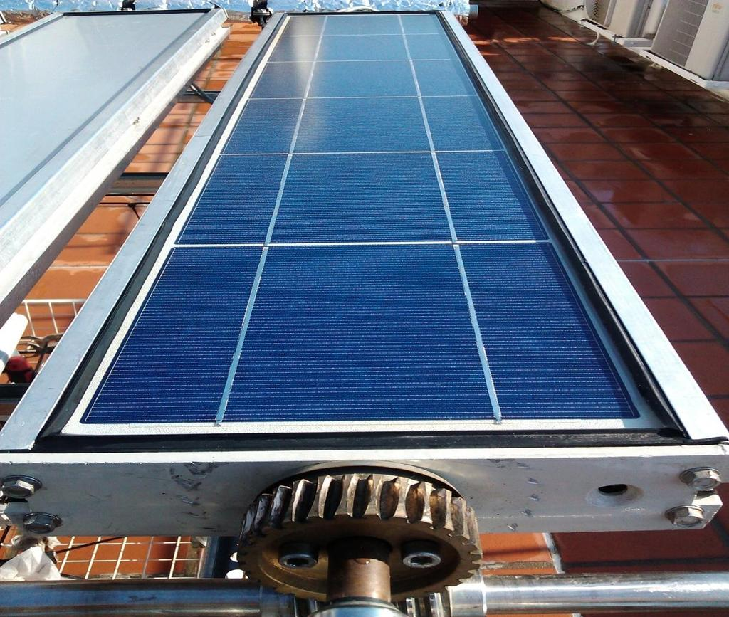 When heating is satisfied, use alternative energy PV module
