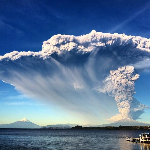 Volcanic activity worldwide: Let me give you an example of how a volcano can change the weather all around the world.